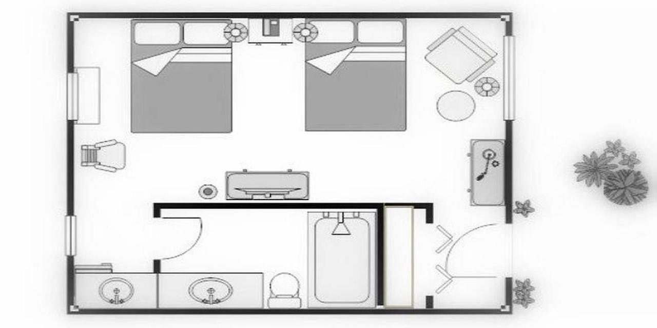 Plano de planta | Standard Two Double Guest Room.jpg