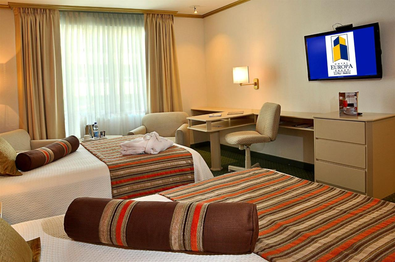 A Premium Executive room with 2 queen size beds