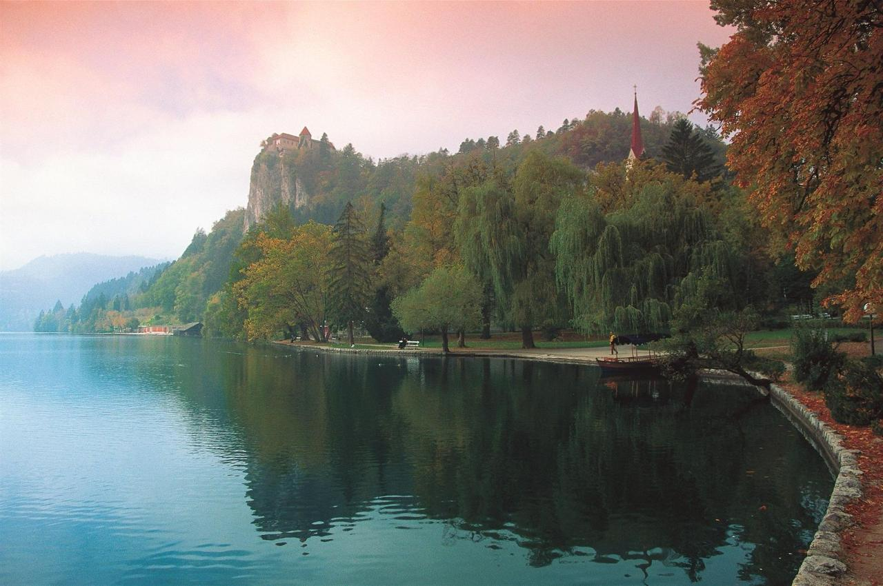 Bled - Herbst