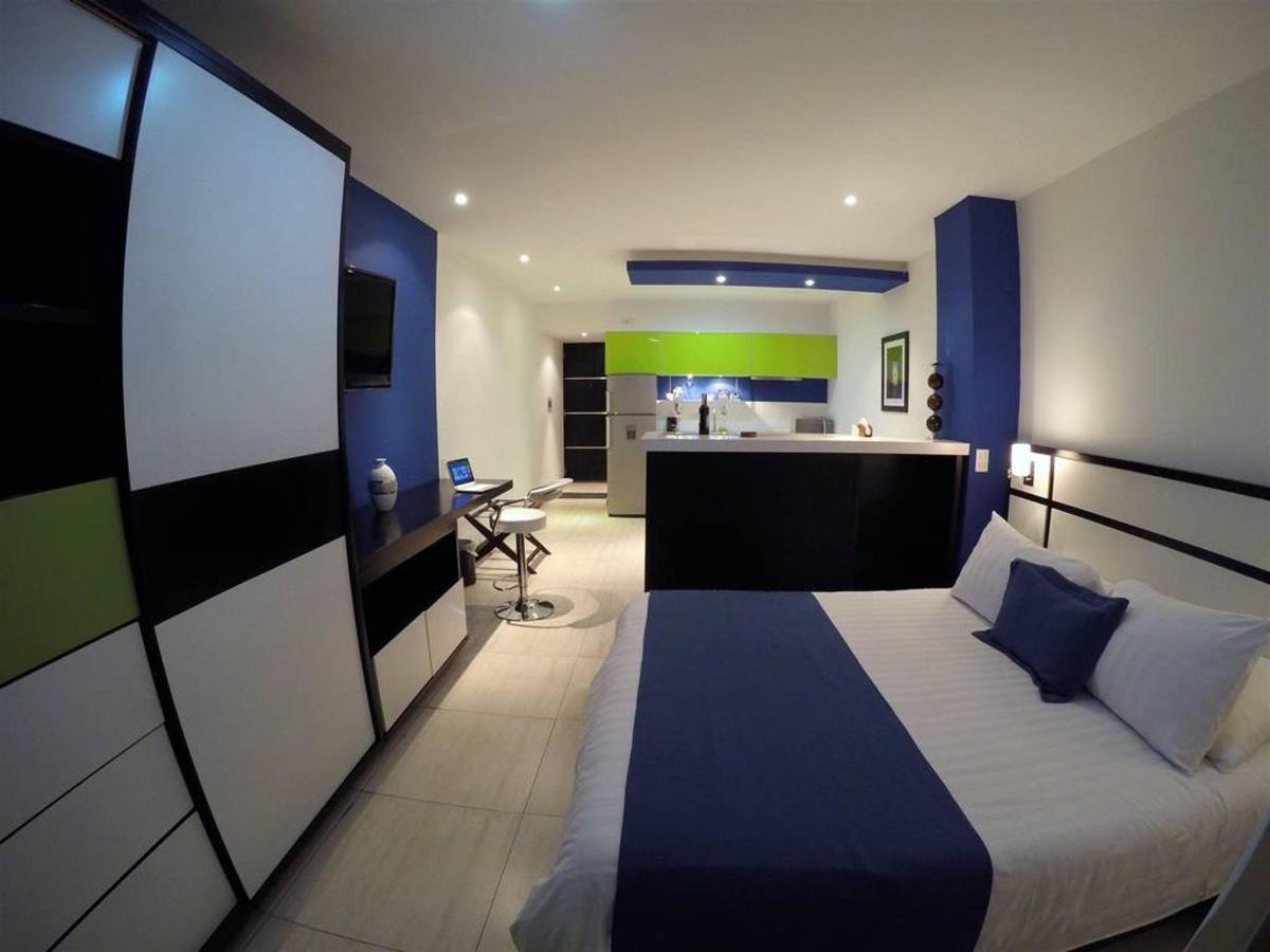 Amplias Habitaciones tipo Loft Suite en 2 ambientes