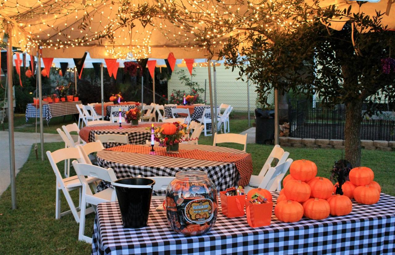 Theme Wedding Reception 'Halloween'