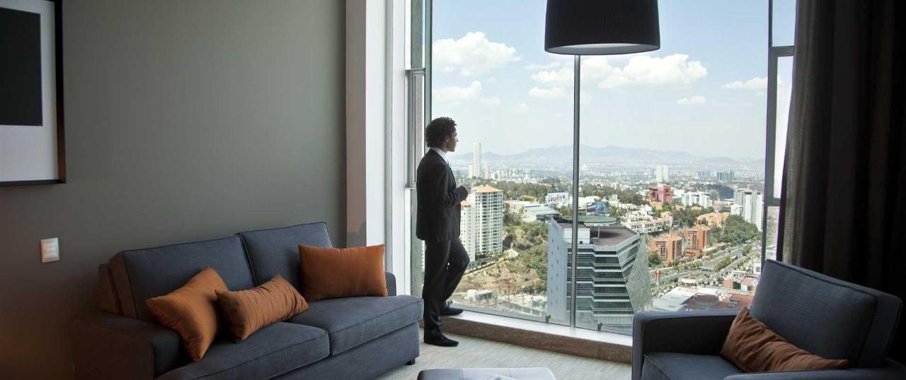 Habitaciones, Presidente InterContinental Santa Fe en Ciudad de Mexico
