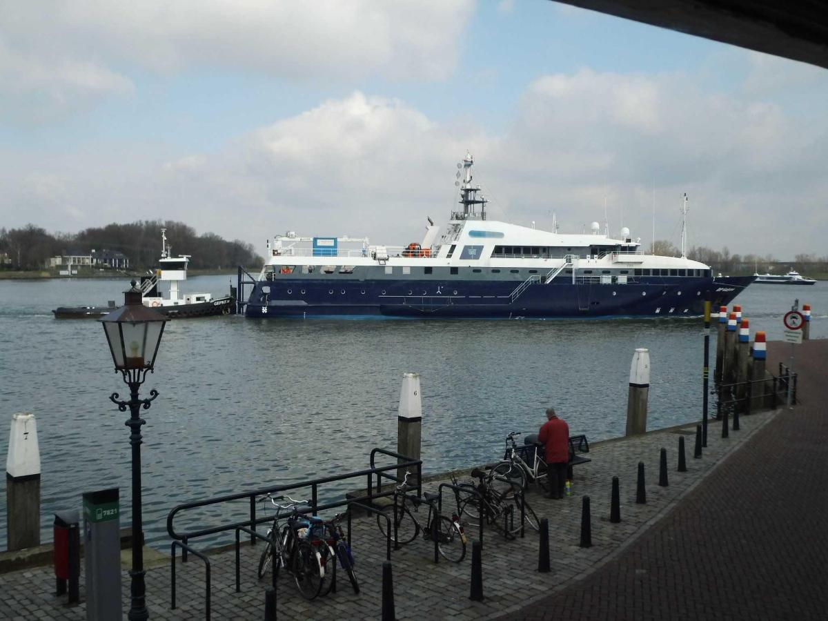 View on river. Superyacht transport.JPG