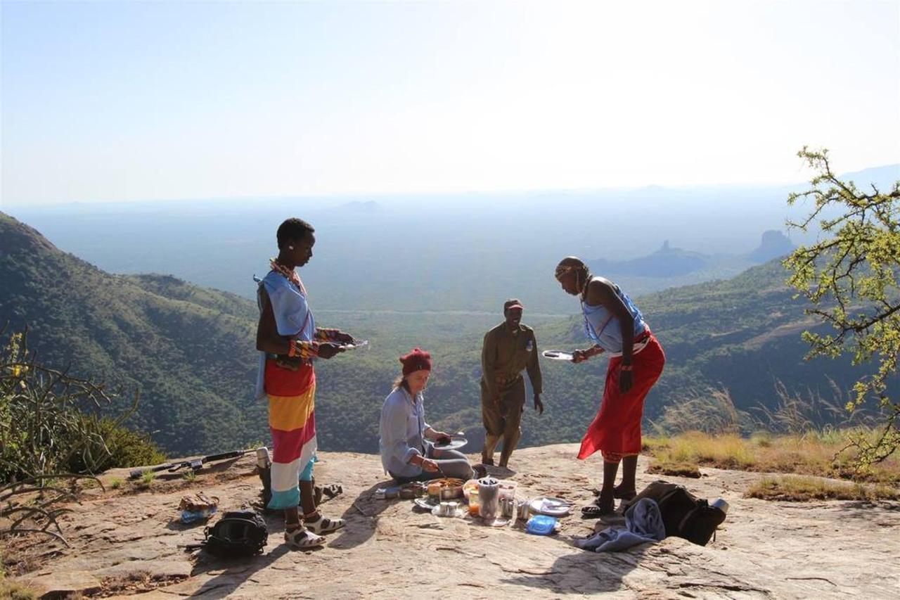 Saruni breakfast during Mount Ololokwe excursion.jpg