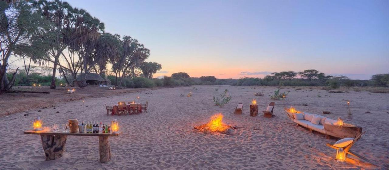 Evening fire by the dry river bed.jpg