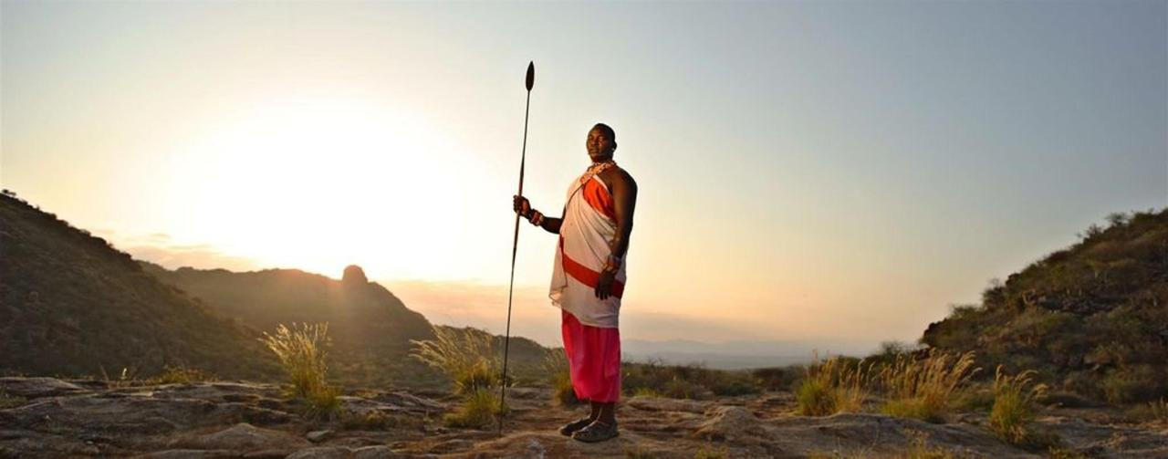 Samburu warrior at sunset.jpg