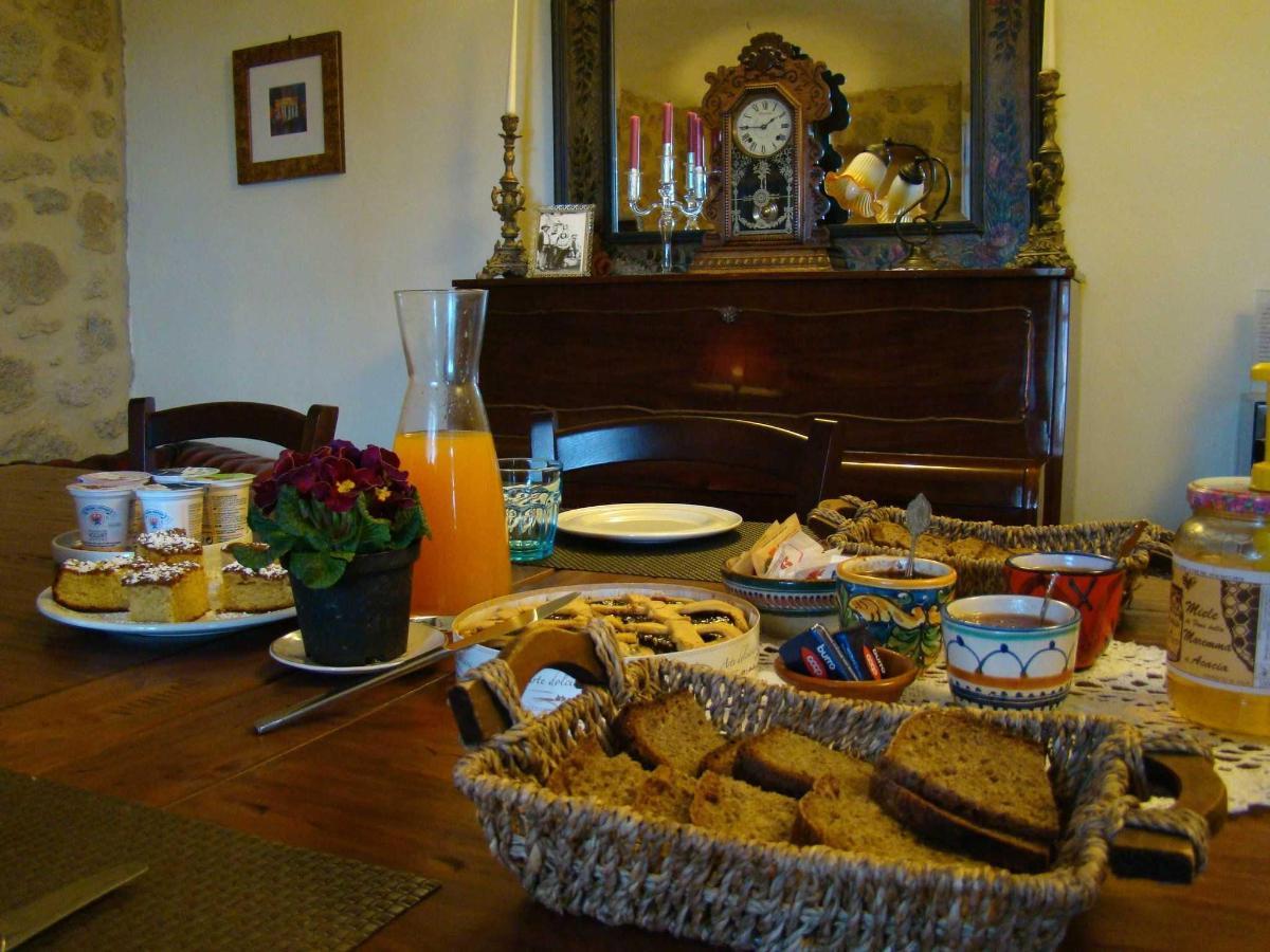 Завтрак Borgo Tepolini.JPG