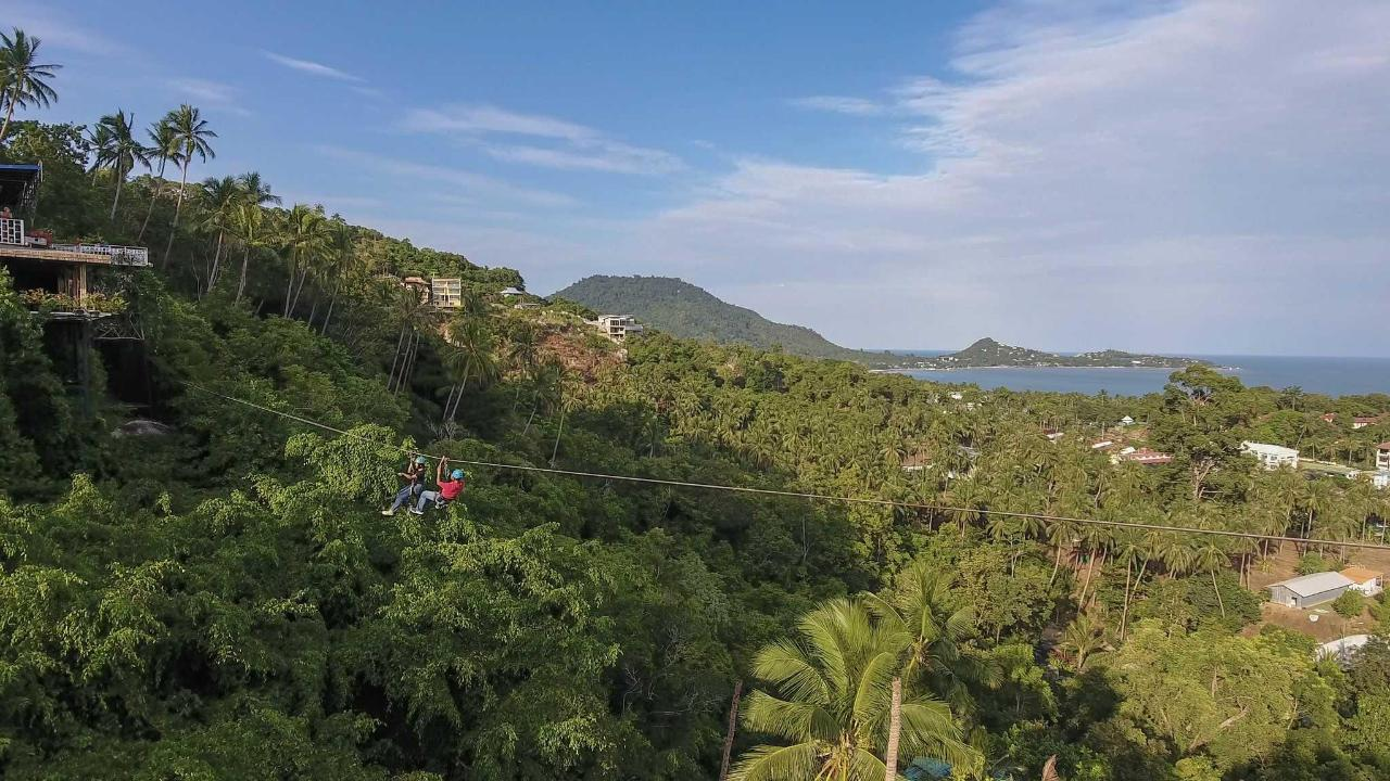 Samui Cable Ride