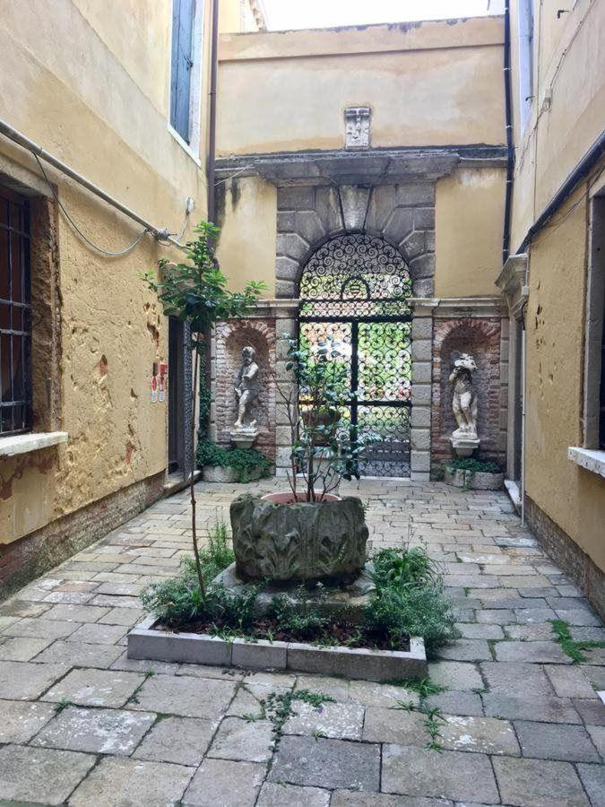 Courtyard with