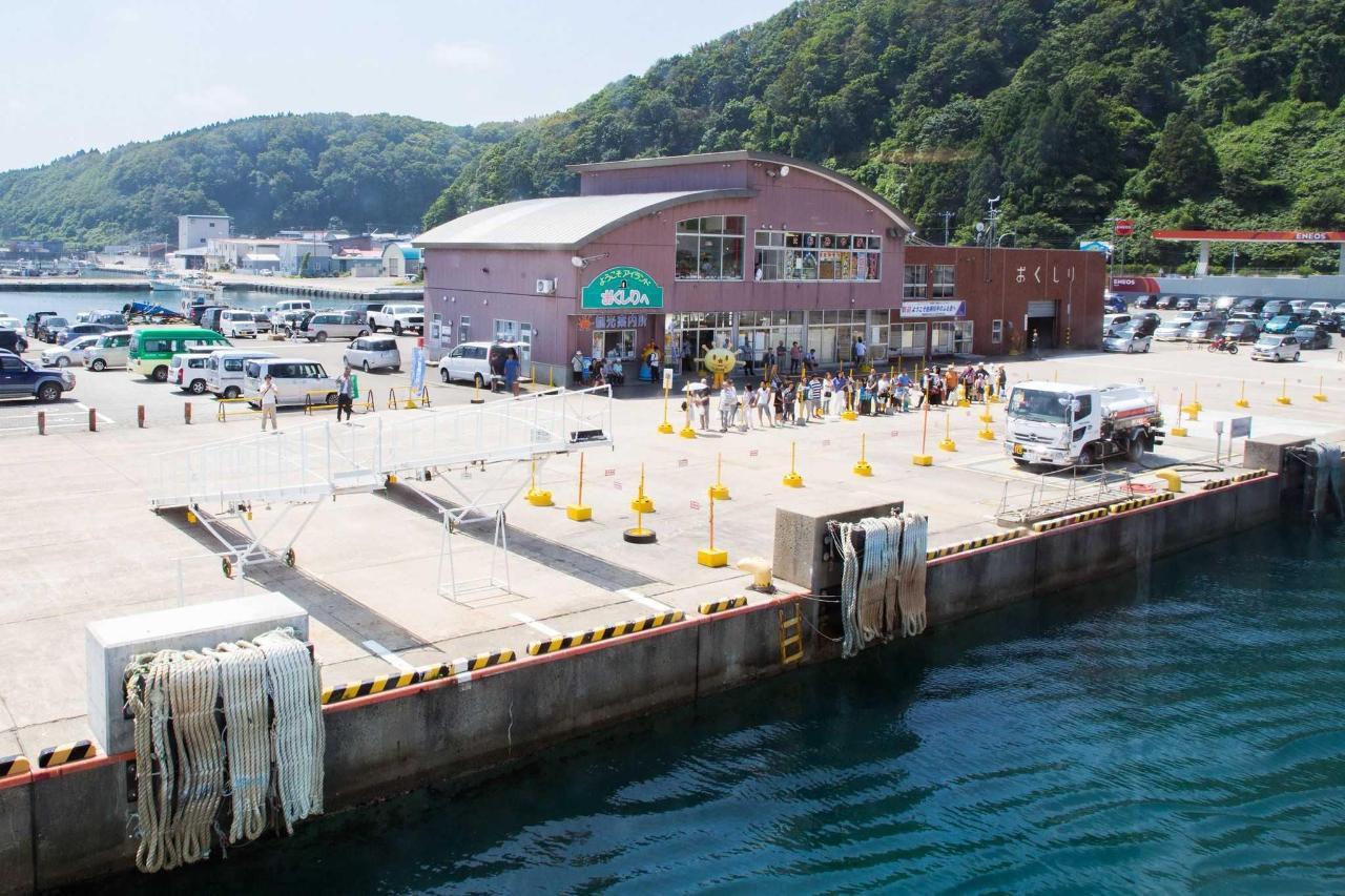奥尻島の景観