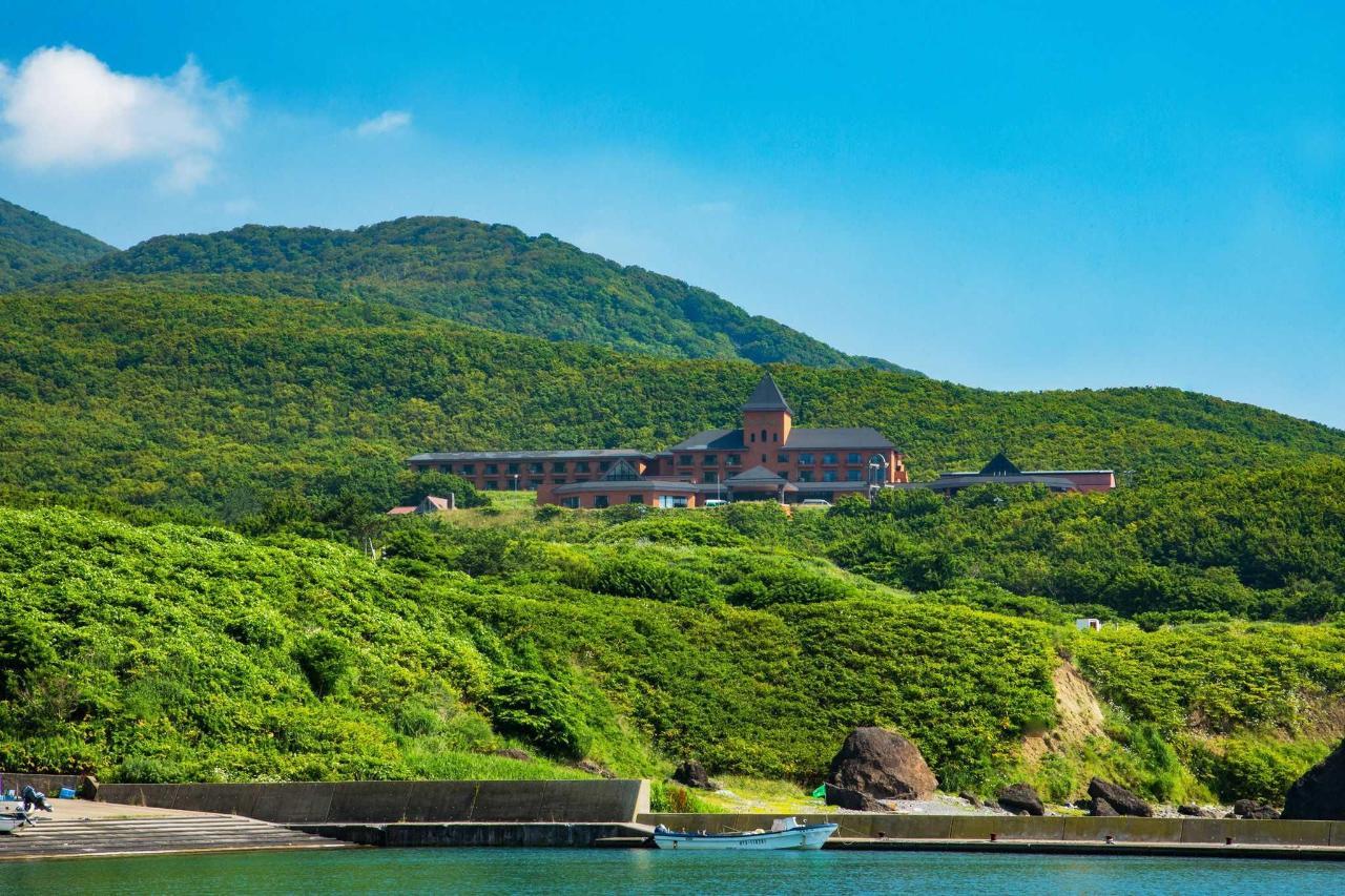 緑と海に囲まれた景観