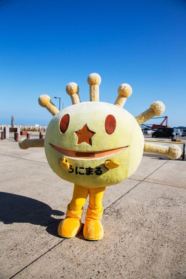 奥尻島のゆるきゃら「うにまるくん」