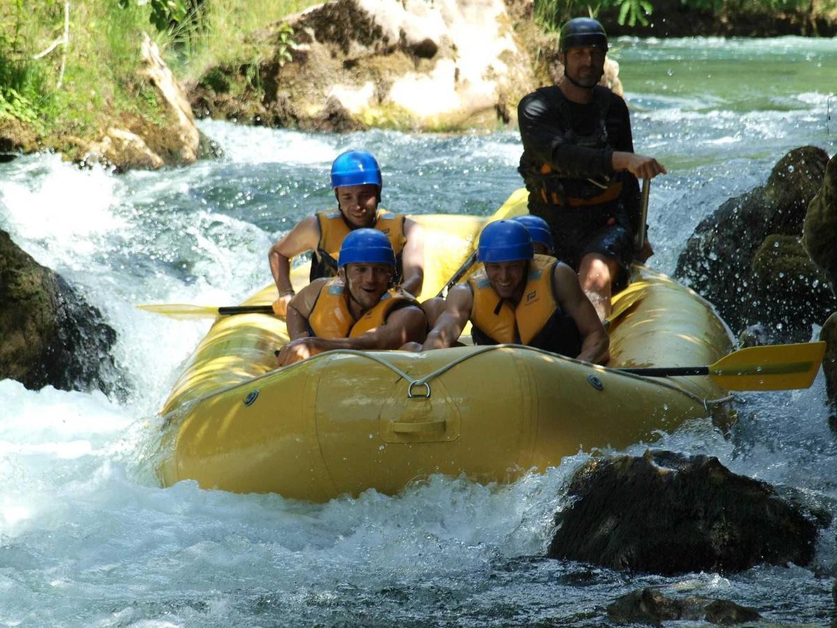 Rafting auf Cetina 2