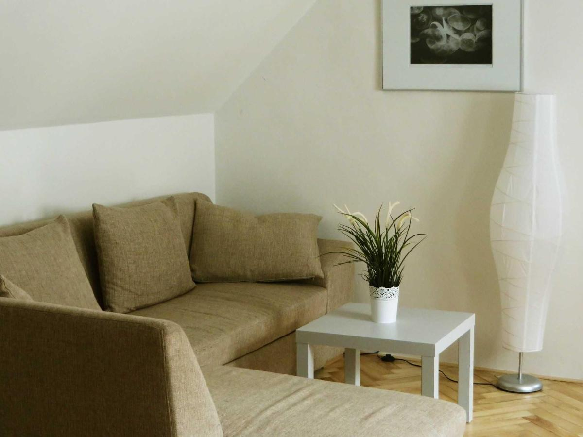 2 Bedroom Attic Apartment - sofa