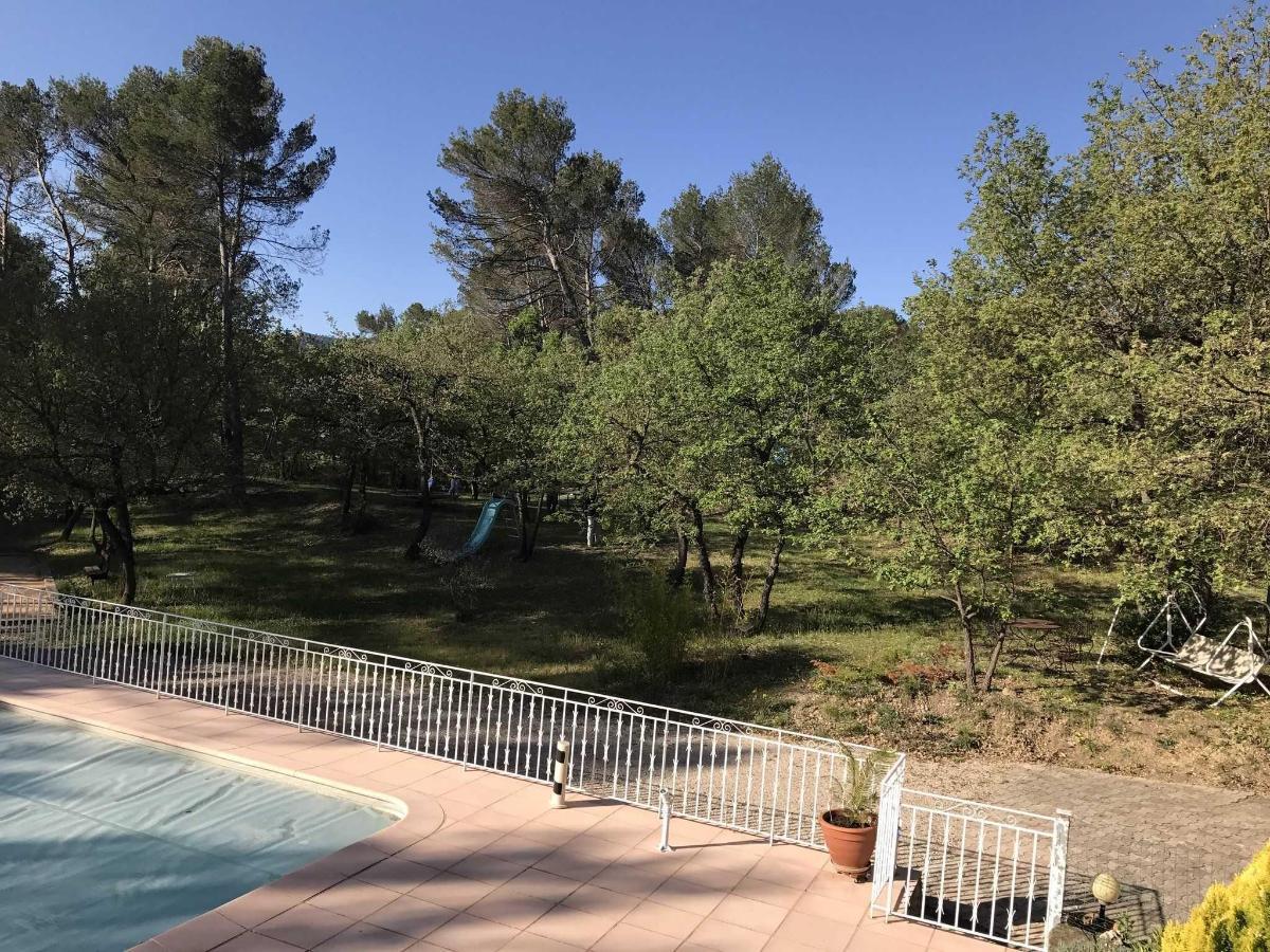 Бассейн и парк Вилла Виктория Экс-ан-Прованс