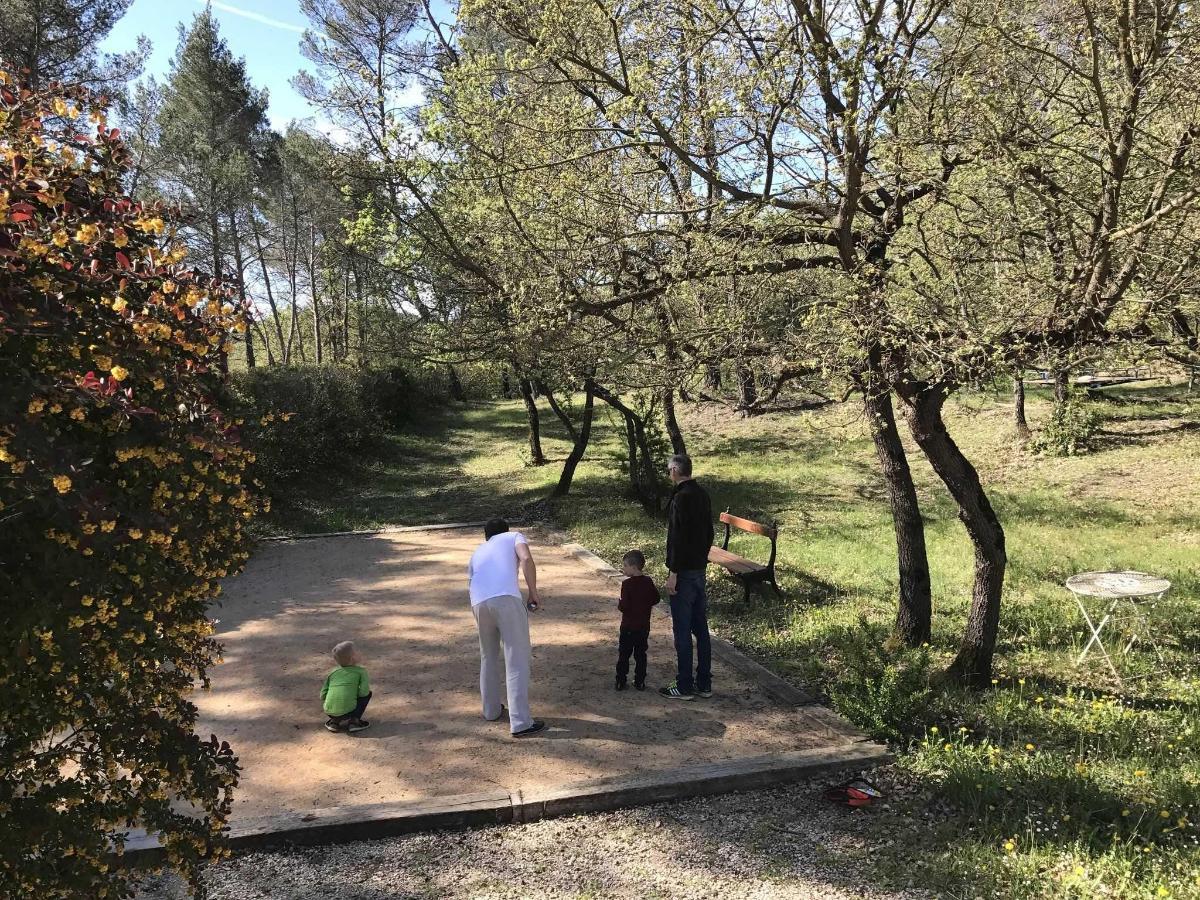 Terrain de boules de la Villa Victoria Aix en Provence