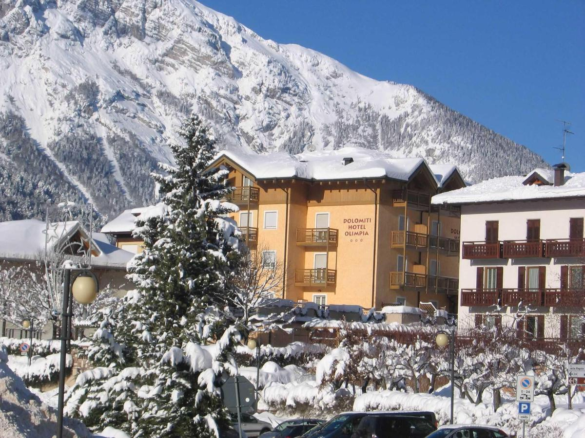 Dolomiti Hotel Olimpia, winter in Andalo