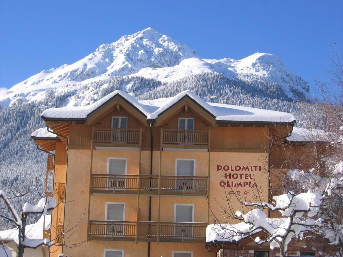 Dolomiti Hotel Olimpi, winter in Andalo