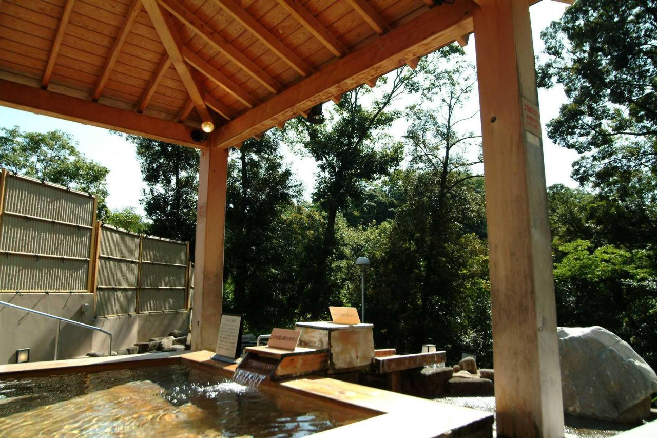 Shinrin no Yu Outdoor Hinoki Wood Bath