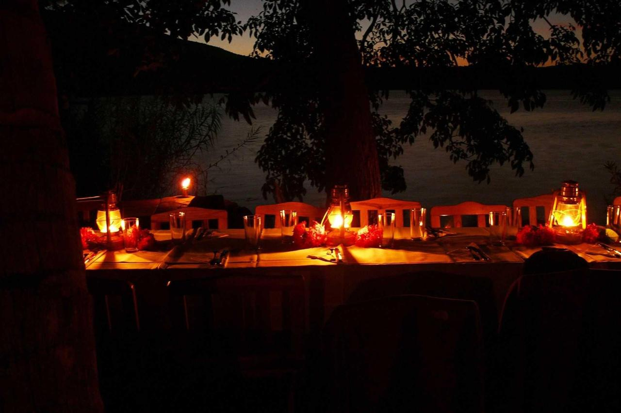 Dinners Under the Stars of Zopango private Island...