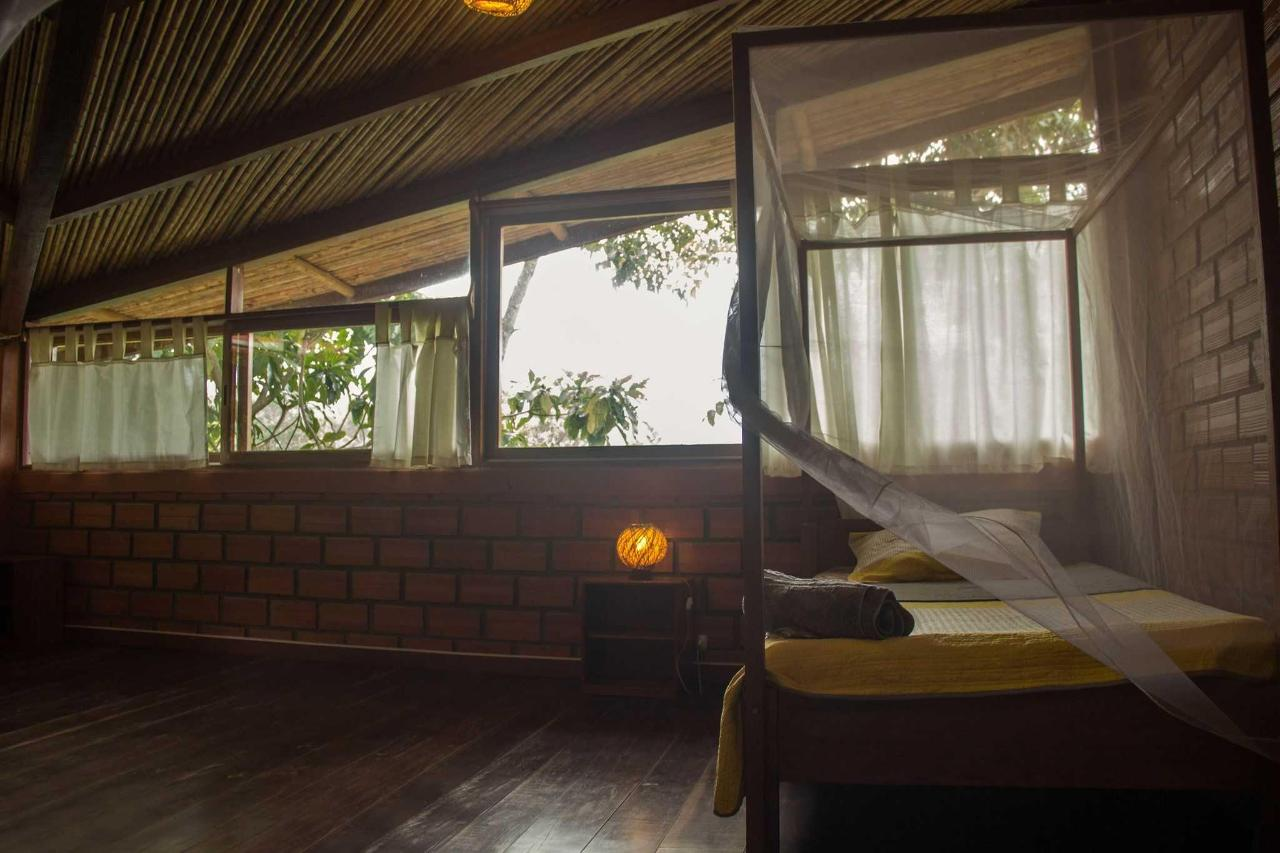 Wake up to the sun rising over the Cerro Escalera mtns from your bed..JPG
