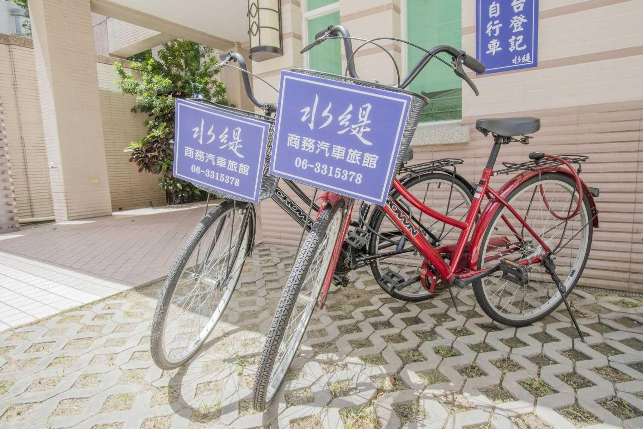Free bikes for our most beloved guests to ride