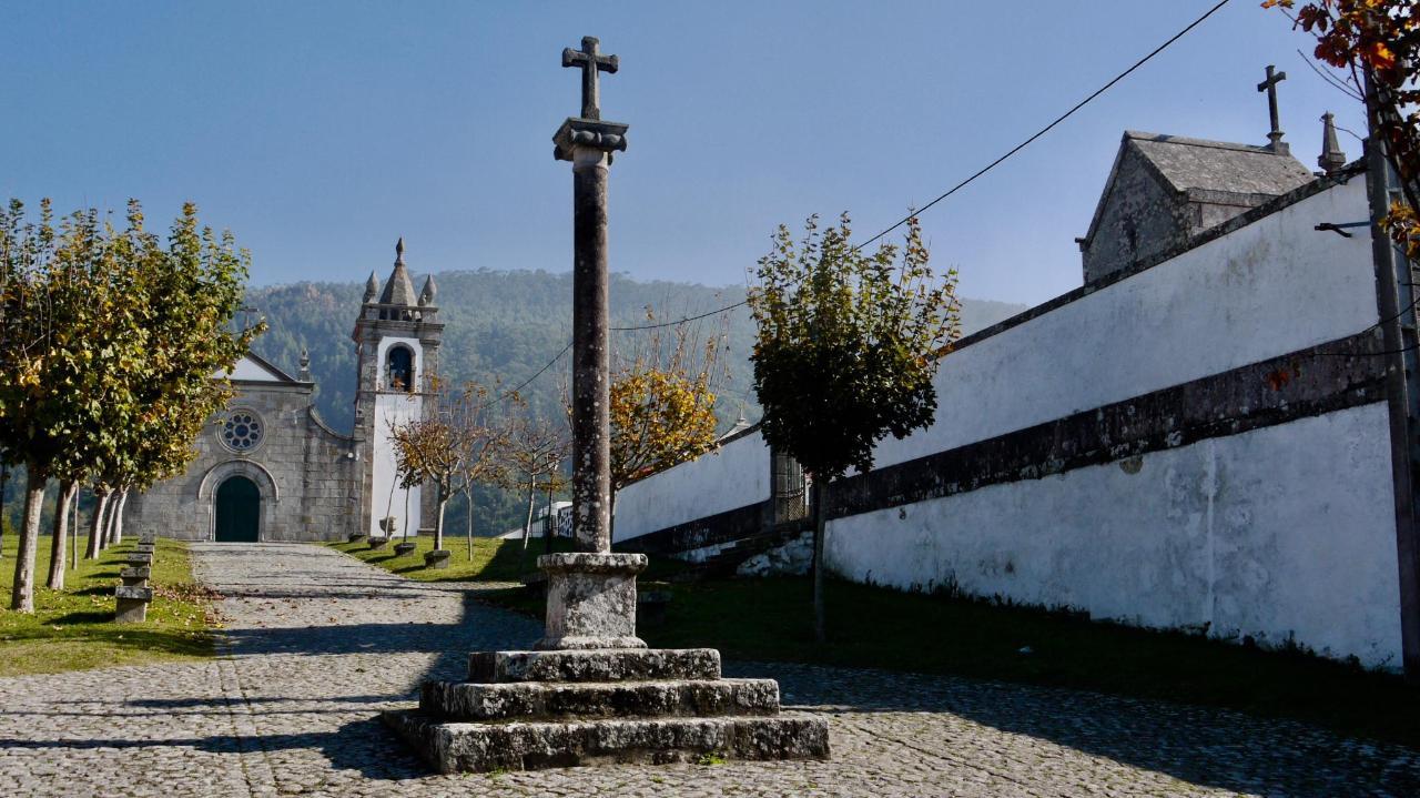 Am Pilgerweg hinter Viana do Castelo