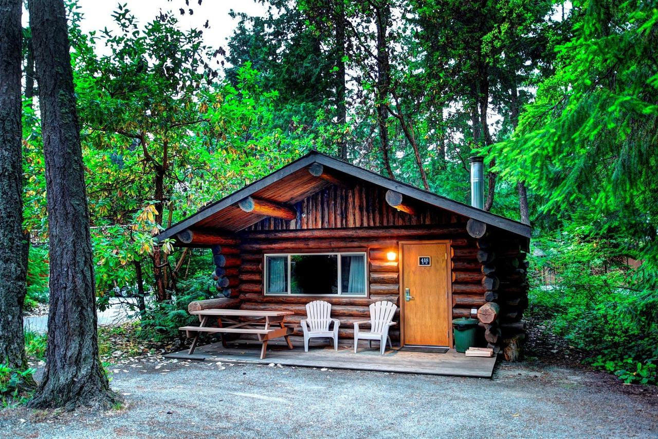 Rustic Cabin Tigh-Na-Mara Pet Friendly Forested