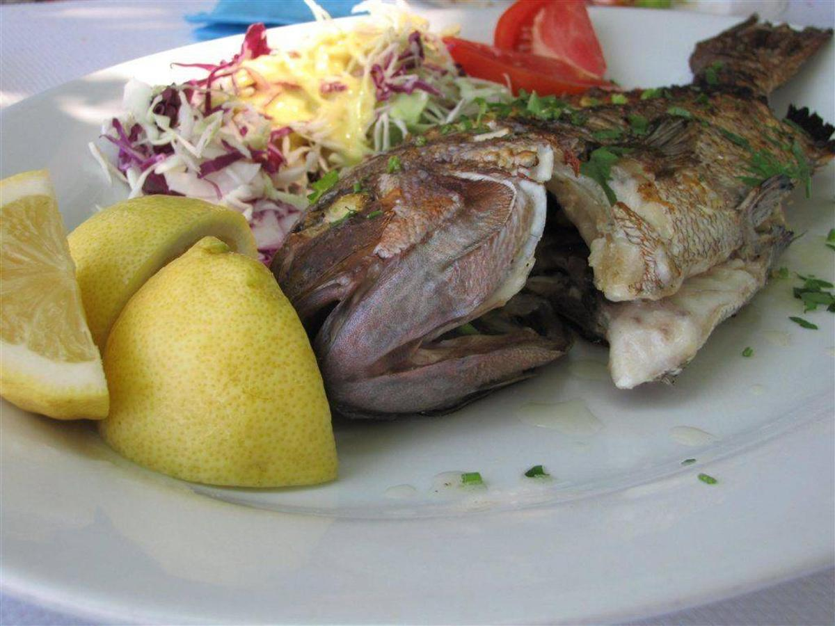 Simi Restaurant, Thassos, Greece
