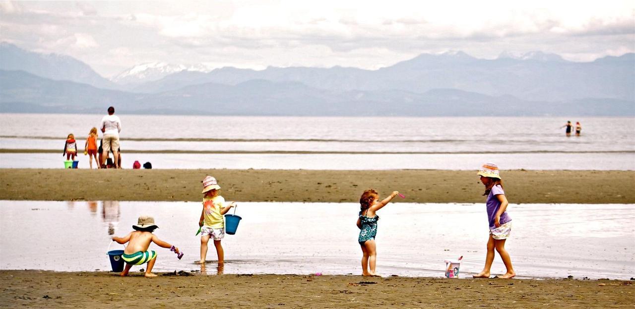 Tigh-Na-Mara Seaside Spa Resort Beach Kids Family Friendly