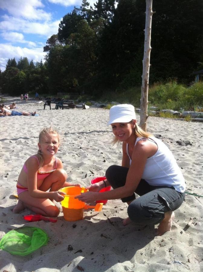 Tigh-Na-Mara Seaside Spa Resort Beach Mom Daughter