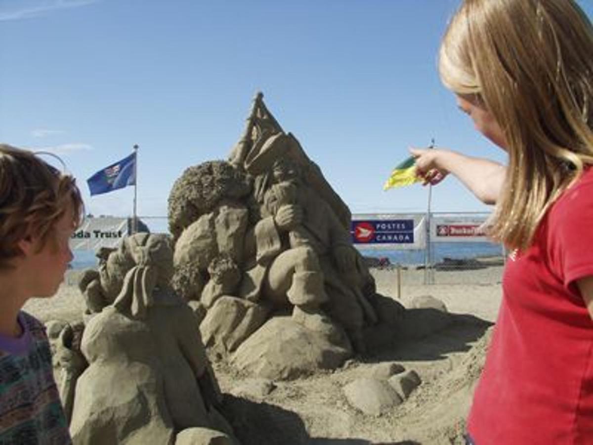 Parksville Sand Castle Competition