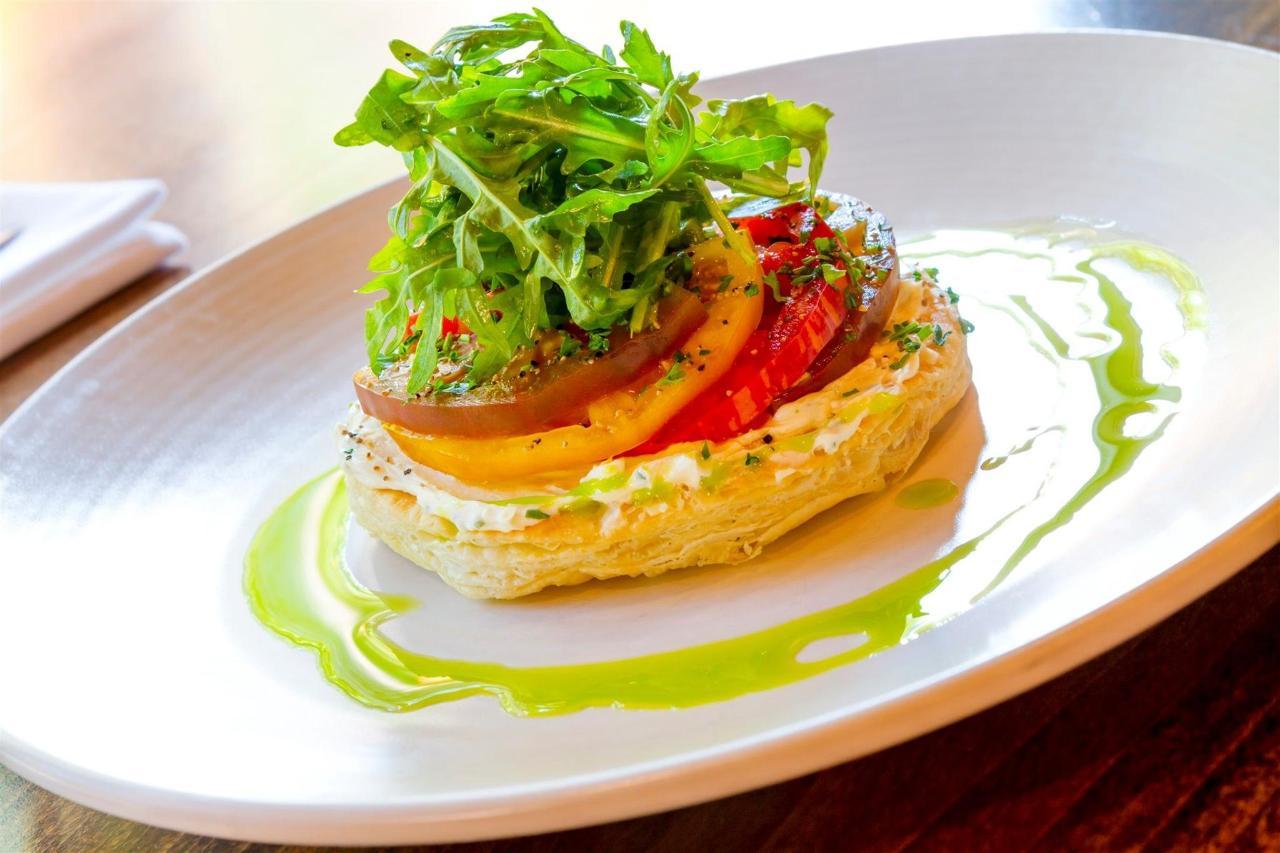 Tigh-Na-Mara Cedars Restaurant Tomato Tart