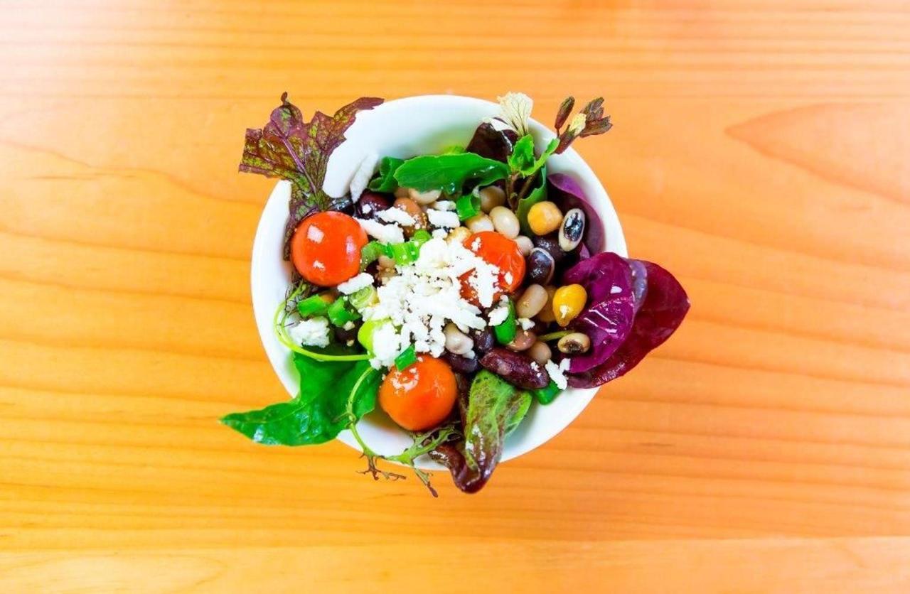 Tigh-Na-Mara Grotto Spa Treetop Tapas Spa Dining Salad