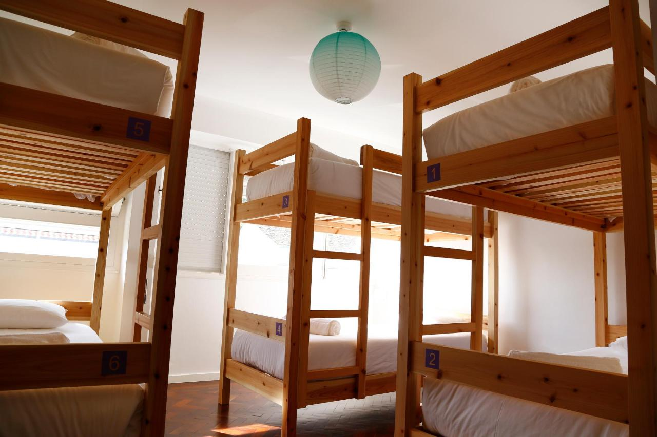 6 bed Dorm - City's Hostel Ponta Delgada.jpg