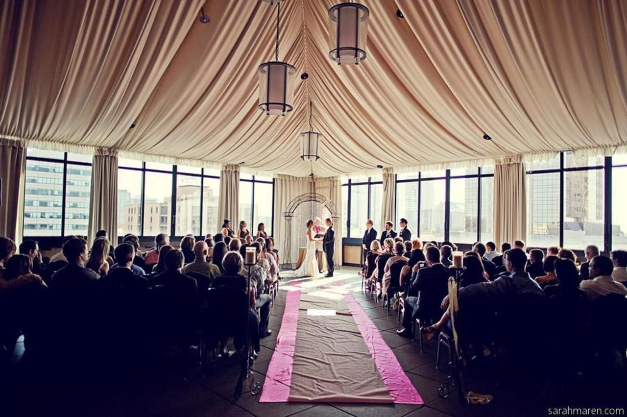 Terrace Ballroom Wedding Ceremony