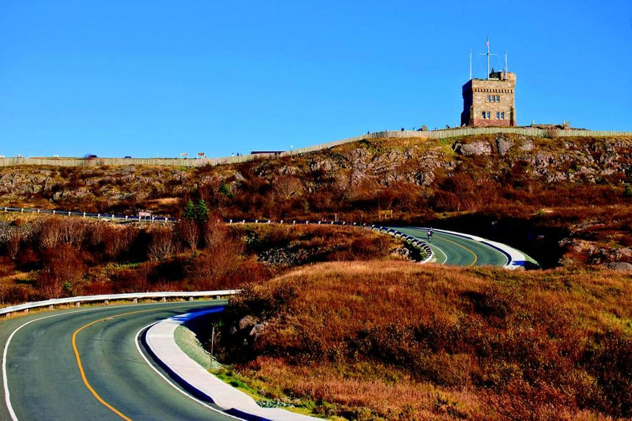 Road to Signal Hill National Historic Site, St. John's, Avalon.jpg