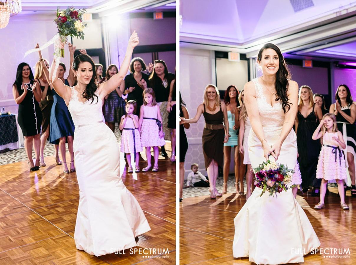 Bouquet Toss