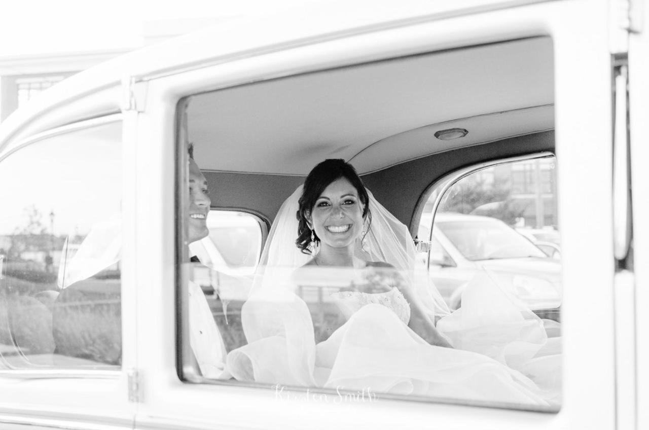 Admiral Fell Inn Bride and Groom in Car Shot by Kirsten Smith Photography.jpg