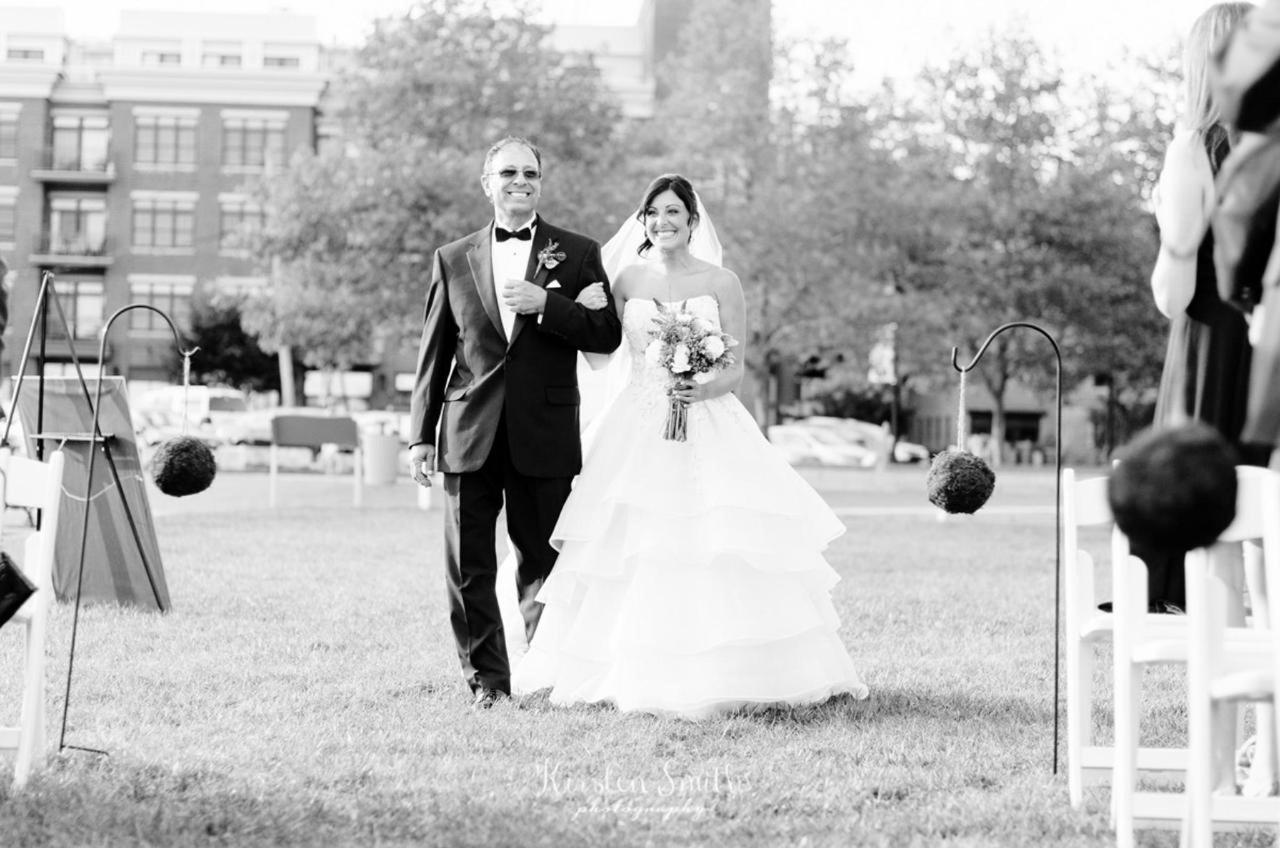 Admiral Fell Inn Bride Walking the Aisle Shot by Kirsten Smith Photography.jpg
