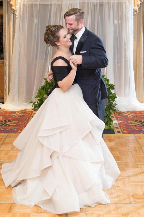 Admiral Fell Inn Bride and Groom Dance Shot by Amy and Jordan Photography.jpg
