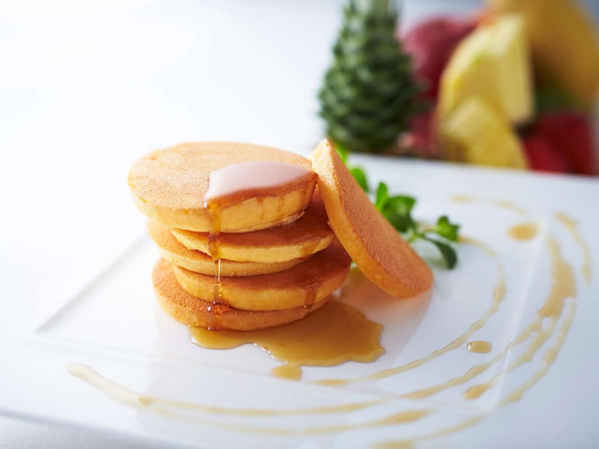 Cross Style Breakfast - Pancakes with Maple Syrup.jpg