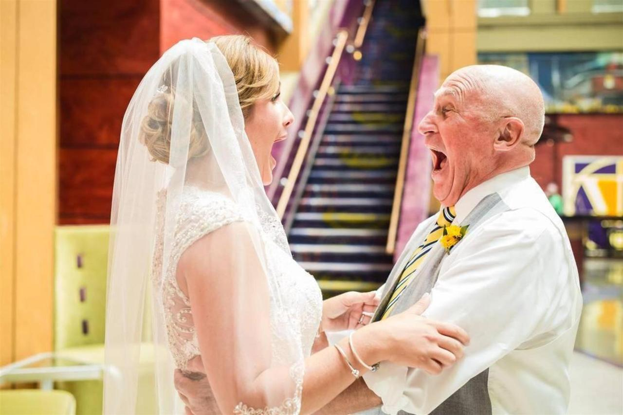 Pier 5 Hotel Bride and Dad Blue Wedding Shot by Trans4mation Photography.jpg