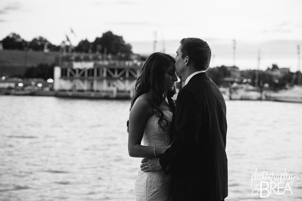 Pier 5 Hotel Bride and Groom Black and White Wedding Shot by Trans4mation Photography.jpg