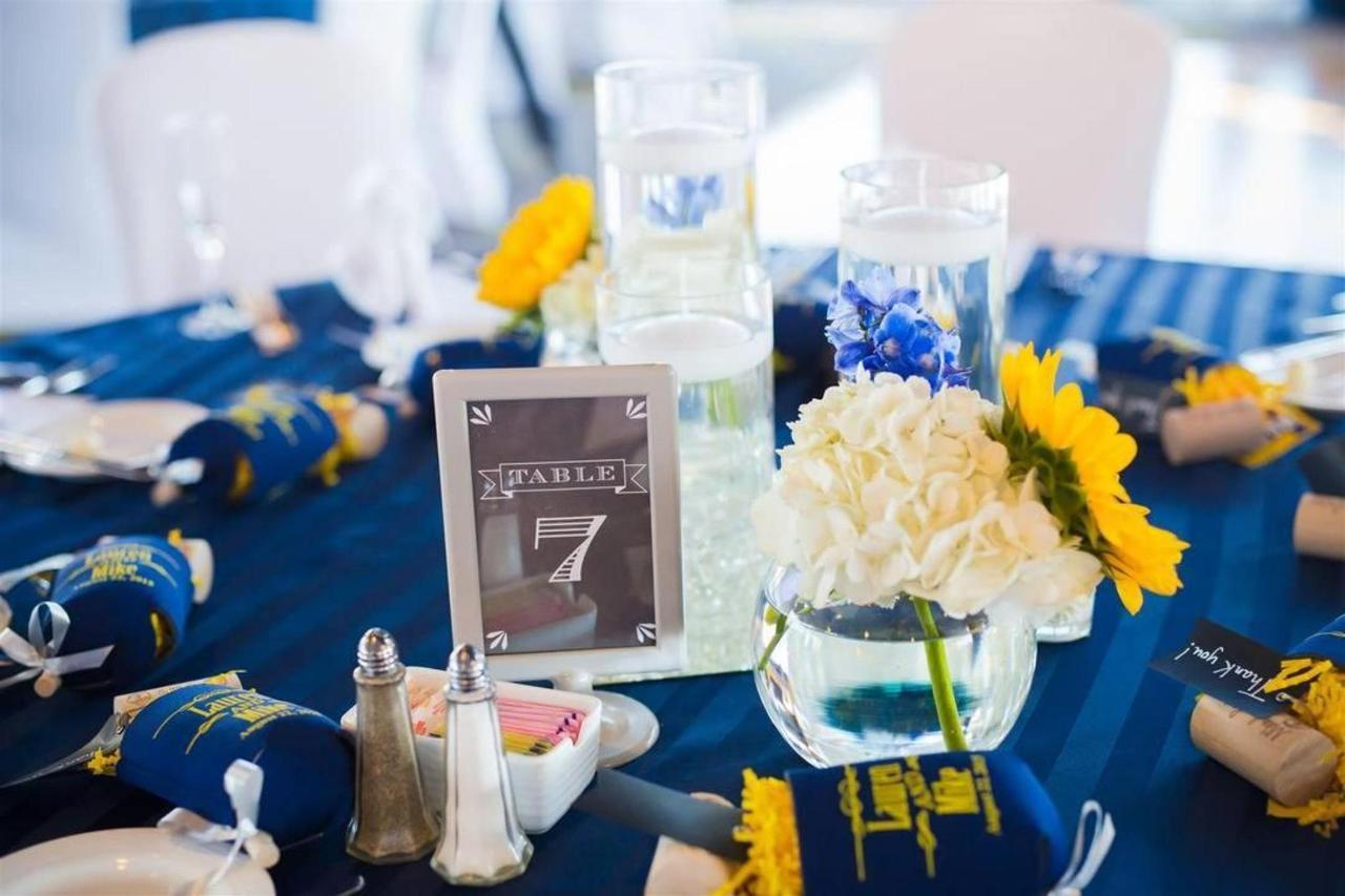 Pier 5 Hotel Bride and Groom Blue Wedding Setup Table 7 Shot by Photograhy by Brea.jpg