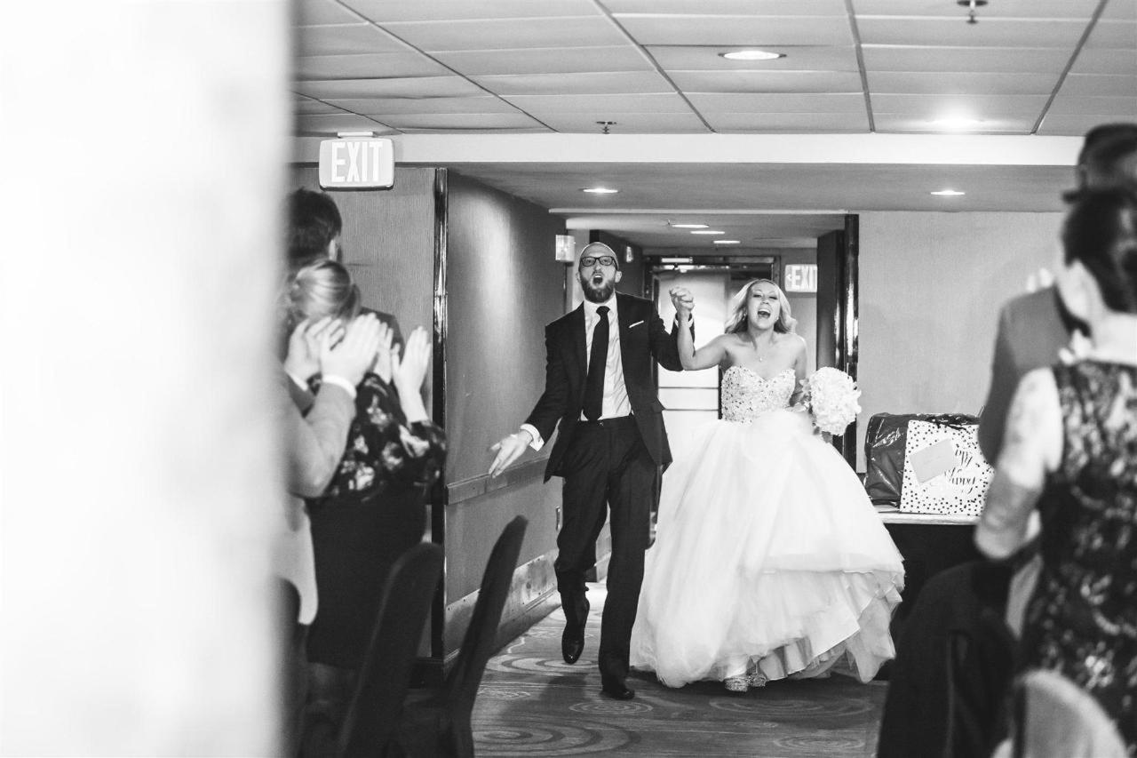Pier 5 Hotel Bride and Groom Harbor Club Entrance Wedding Shot by Photography by Brea.jpg