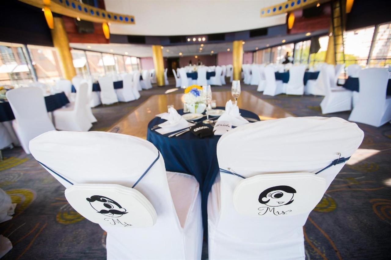 Pier 5 Hotel Wide Harbor Club Blue Yellow and White Wedding Shot by Photography by Brea.jpg