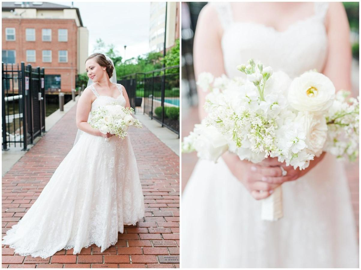Henderson's Wharf Bride in Fells Point Photos Captured by Ashton Kelley Photography.jpg
