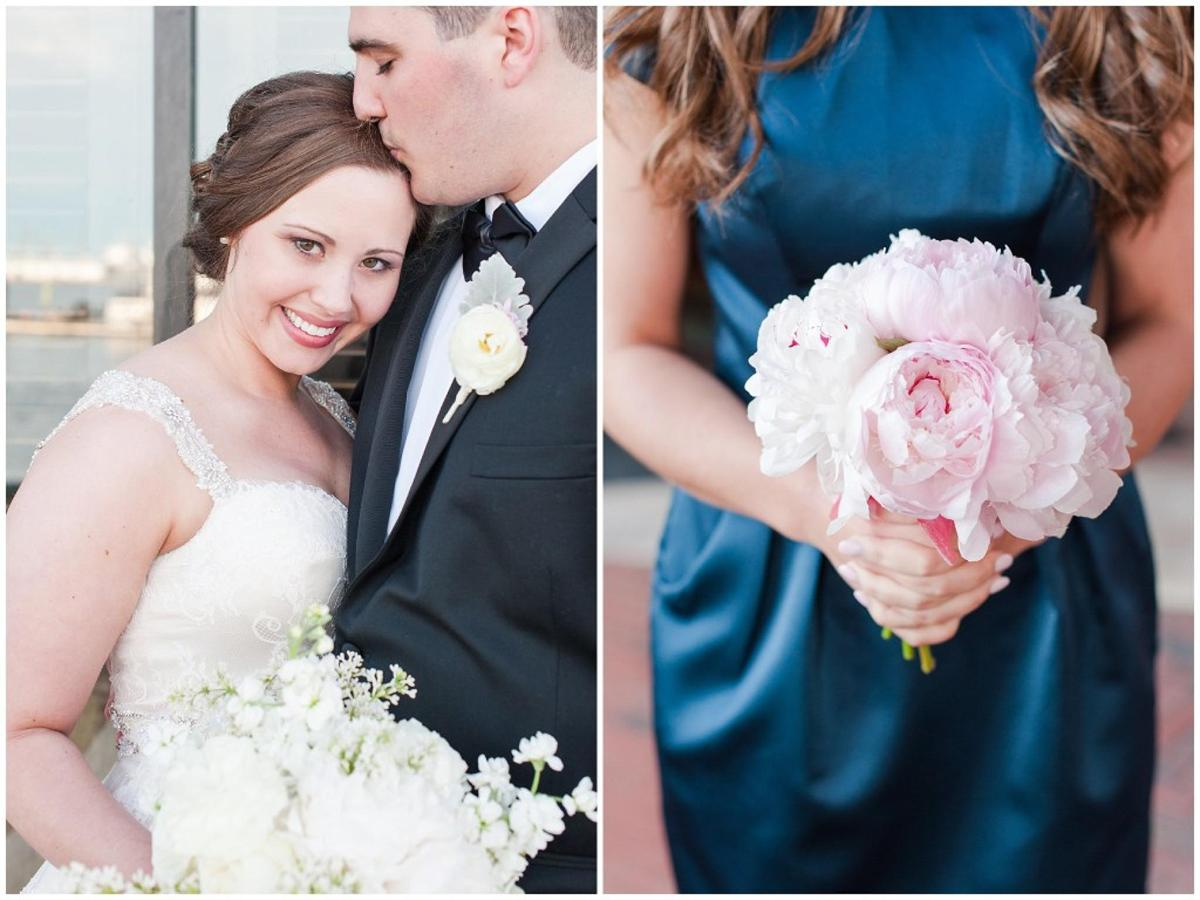 Henderson's Wharf Couple and Bridesmaid Bouquet Photo Captured by Ashton Kelley Photography.jpg