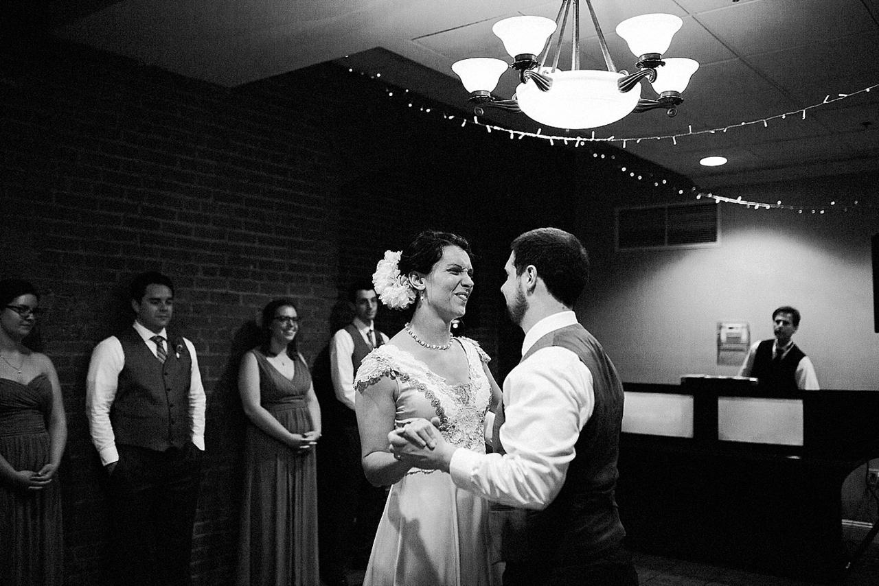 Henderson's Wharf Bride and Groom Dance Captured by Kirsten Marie Photography.jpg